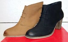 Ladies Lucini Nubuck Leather Ankle Boots