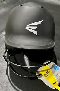 Easton Prowess Fastpitch Helmet & Mask M/L 6 7/8-7 3/8 -New W/Tags - Matte Black