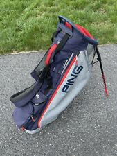 Used Ping  Golf 2021 Hoofer Lite Stand / Carry Bag 4-way Top