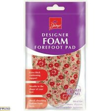 Foam Insoles Forefoot Ball Foot Pain Relief Support Sport Shoes FLOWER Pattern