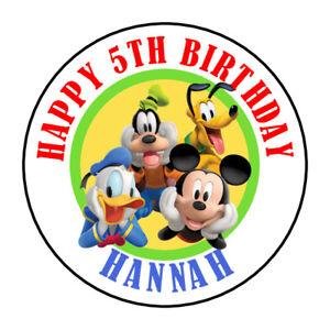 30 Disney Junior Jr Birthday Sticker Lollipop Label Party Favors 1.5 in YOU PICK