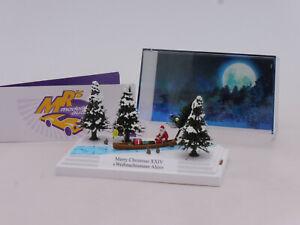 "Busch 7618 # Kleindiorama Merry Christmas XXIV "" Weihnachtsmann Ahoi "" 1:87 NEU"