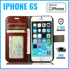 Leather Wallet Flip Case Cover Cas Coque Etui Hoesje Card Money For iPhone 6S