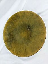 Mid-Century Copper Lacquered Bowl, signed
