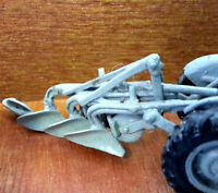 Plough 3 furrow for tractor G159 UNPAINTED OO Scale Langley Models Kit 1/76