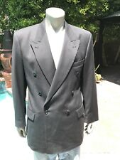 Hugo Boss Black Suit Jacket- 90% Wool & 10% Cashmere- Men's 42L