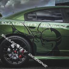 MATTE BLACK Passenger side SUPER BEE Dodge RAM HEMI Decal Graphic RUMBLE MOPAR