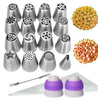 29pcs Ball Russian Flower Icing Piping Nozzles Cake Decorating Tips Baking