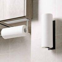 Accessories Shelf Under Cabinet Paper Roll Rack Towel Holder Tissue Hanger ~!~