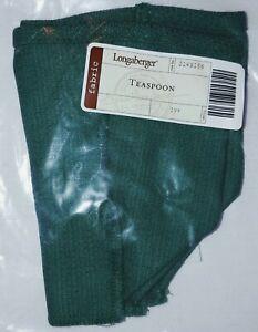 Longaberger Teaspoon Basket Liner ONLY Ivy Color NEW in Bag