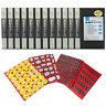 """Itoya Art Portfolio 8x10"""" Album Holds 48 Prints 12 Pack + Emoji Stickers"""