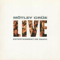 Mötley Crüe - Live : Entertainment Or Death  - 2xCD NEU
