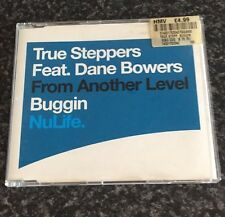 TRUE STEPPERS FEAT DANE BOWERS BUGGIN 3 TRACK SINGLE CD