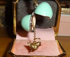 NEW JUICY COUTURE EASTER EGG CHARM FOR BRACELET, NECKLACE, HANDBAG OR KEYCHAIN