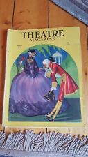 RARE March 1923 Theatre Magazine with Baskerville cover