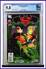 Superman Batman #62 CGC Graded 9.8 DC September 2009 White Pages Comic Book