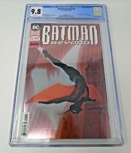 Batman Beyond #25 2018 [CGC 9.8] 1st App Elaina Grayson Foil Cover DC Key Issue