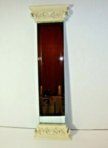 Accent Mirror Column Design Home Decor Classy Elegant Decorative EUC