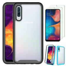 For Samsung Galaxy A50/A50s/A30s Shockproof Hybrid Case Cover/Screen Protector