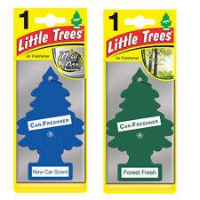 2 x Magic Tree Little Trees Car Air Freshener Scent NEW CAR +FOREST FRESH