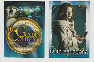 THE GOLDEN COMPASS SET OF 72 CARDS INKWORKS