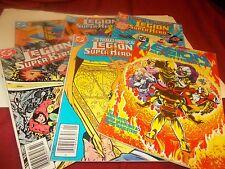 Legion of Super Heroes(set of 6) Hostage on a Hostile - Star #15
