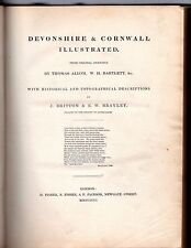 Devonshire and Cornwall Illustrated, from Original Drawings  - 1832