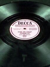 Decca 28923 Promo Sample Sunshine Sue DON'T TURN AROUND / OVER THE VALLEY 78 E