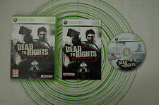 Dead to rights retribution xbox 360 pal
