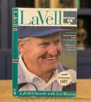 SIGNED!! LaVell Airing It Out LaVell Edwards (1995, HC) BYU LDS Mormon Football