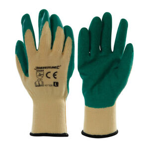 Gloves Gardening Size L Palm To Coating Latex