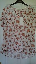 M&S Per Una  Collection Ladies  t- shirt short sleeve  top  size 18 BNWT  ##