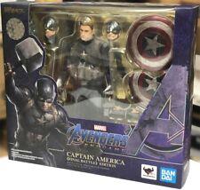NEW Bandai S.H.Figuarts Captain America FINAL BATTLE EDITION Avengers Endgame