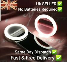 Rechargeable, Selfie Ring Light, Clip-on LED, for smart phones, smart uk stock ✅