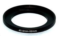 40.5-52mm  camera lens Filter stepping  adapter ring ,    40.5mm-52mm