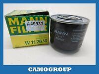 Oil Filter Mann Filter For SEAT Malaga Ibiza Ronda W1126/4