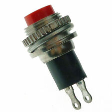 Momentary Push Button Switch SPST d:10mm
