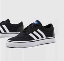 Adidas Skateboarding Adi-Ease Negro Lona Zapatillas Zapatos informales Para Hombre UK 7-10