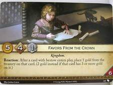 A Game of Thrones 2.0 LCG - 1x #120 FAVORS from the crown-the Brotherhood with