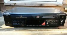 SONY Mini Disc/CD player-recorder w/Remote