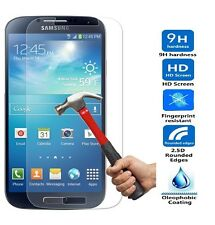 NEW FOR SAMSUNG GALAXY S4 SIV BALLISTIC TEMPERED GLASS SCREEN PROTECTOR GUARD 9H