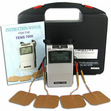 TENS 7000 Unit Machine Muscle Therapy for Pain Management, FREE FAST SHIPPING