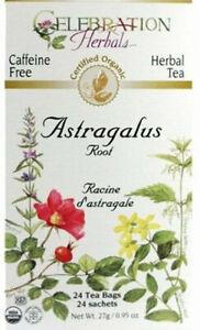 Astragalus Root Tea by Celebration Herbals, 24 tea bag