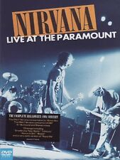 NIRVANA Live At The Paramount DVD BRAND NEW NTSC Region All