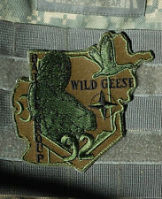 French Joint Battle Group Brigade La Fayette Wild Geese FOB Surobi Subdued Patch