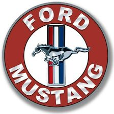 """FORD MUSTANG 22"""" DISK METAL SIGN"""