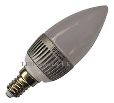 E14 SES 12 SMD LED 2.5W 215LM Dimmable White Candle Bulb ~40W