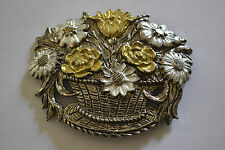 ornement de ceinture métal style art nouveau