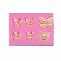 Silicone Butterfly Mould Fondant Mold DIY Wedding Cake Decorating Baking Tool