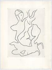 Jean Hans Arp original etching